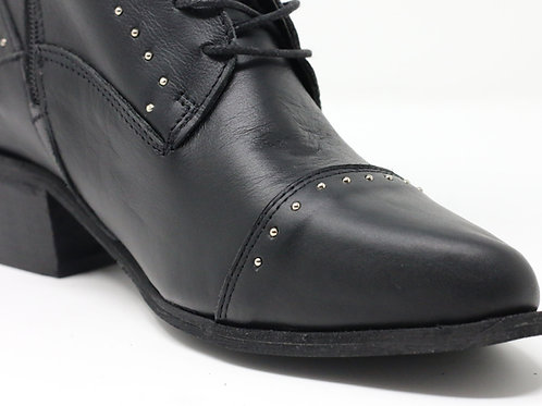 Thalia - Leather Ankle Boots