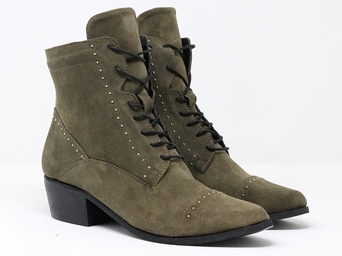 Elia - Suede Ankle Boots