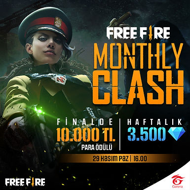 Free Fire Monthly Clash