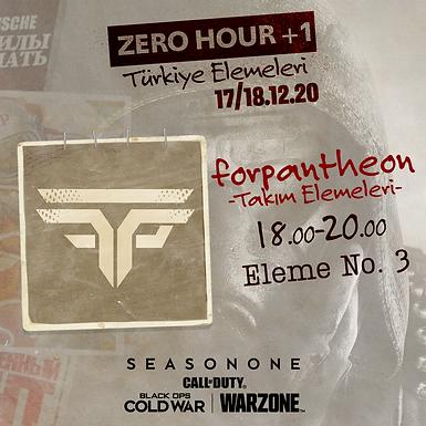 WARZONE ZERO HOUR +1 KILLRACE