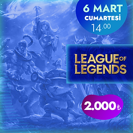 Gamify League Of Legends 5v5 Turnuvası