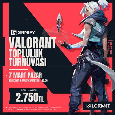 VALORANT Topluluk Turnuvası ***