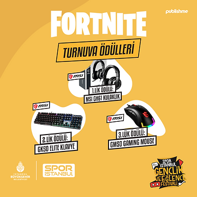 IGEF Fortnite Turnuvası (Solo)