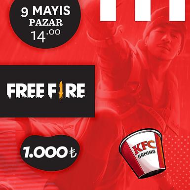 KFC Gaming TR Solo Free Fire Turnuvası