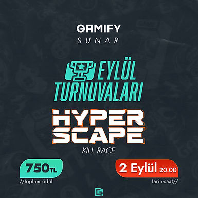 Gamify HyperScape Turnuvası