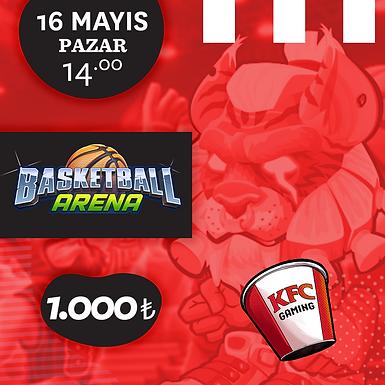 KFC Gaming TR Basketball Arena Turnuvası