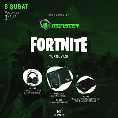 Solo Monster Fortnite Turnuvası 3. Ön Eleme