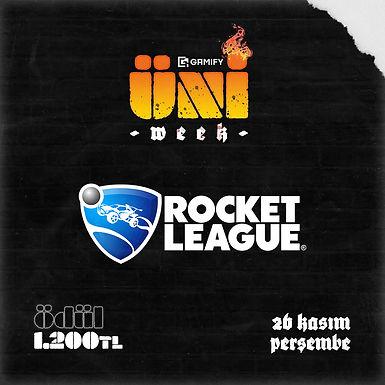 Gamify X UniWeek Rocket League