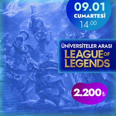 Gamify Üniversiteler League of Legends Turnuvası