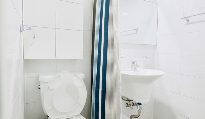 공용 욕실과 화장실