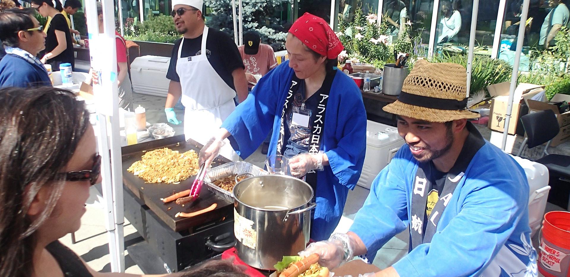 Summer Festival Food