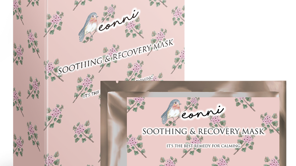 eonni soothing and recovery mask 舒緩治癒面膜 [Mystery Volcano限定版] 套裝