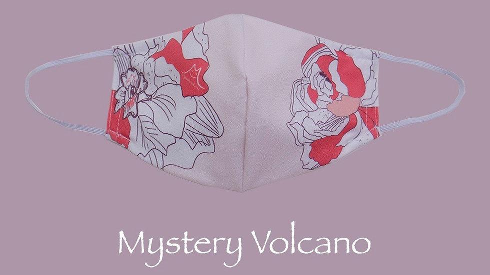 經典花卉圖案 小童口罩