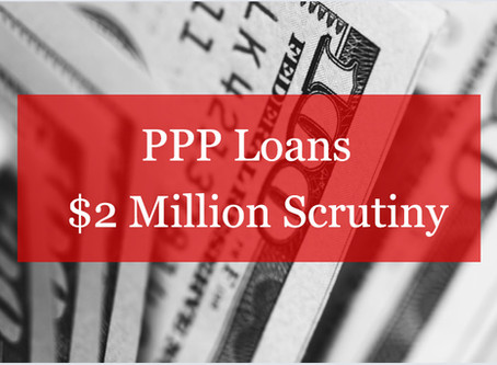 ALERT: PPP Additional Scrutiny Over $2 Million