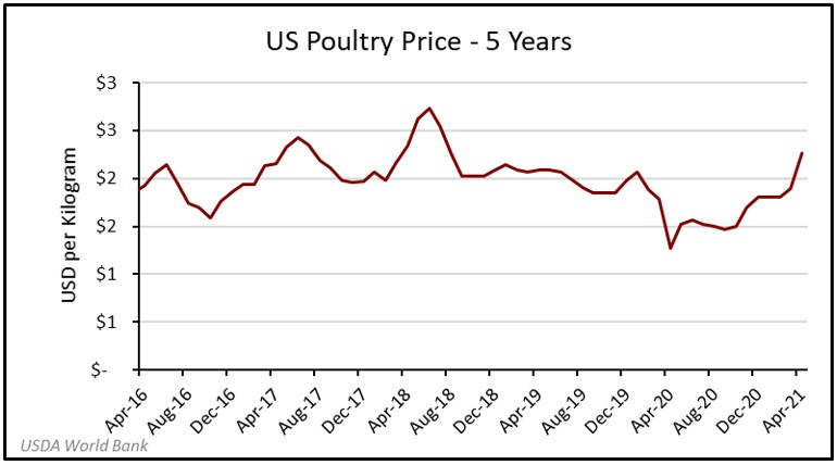 Focus Management Group - US poultry price