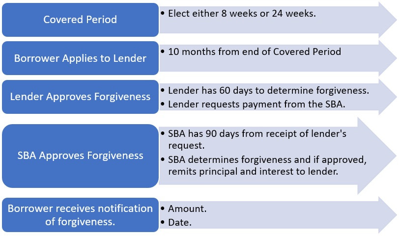 Focus Management Group PPP Loan Forgiveness