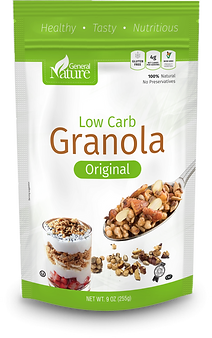 General Nature Low Carb Ganola - Original Flavor