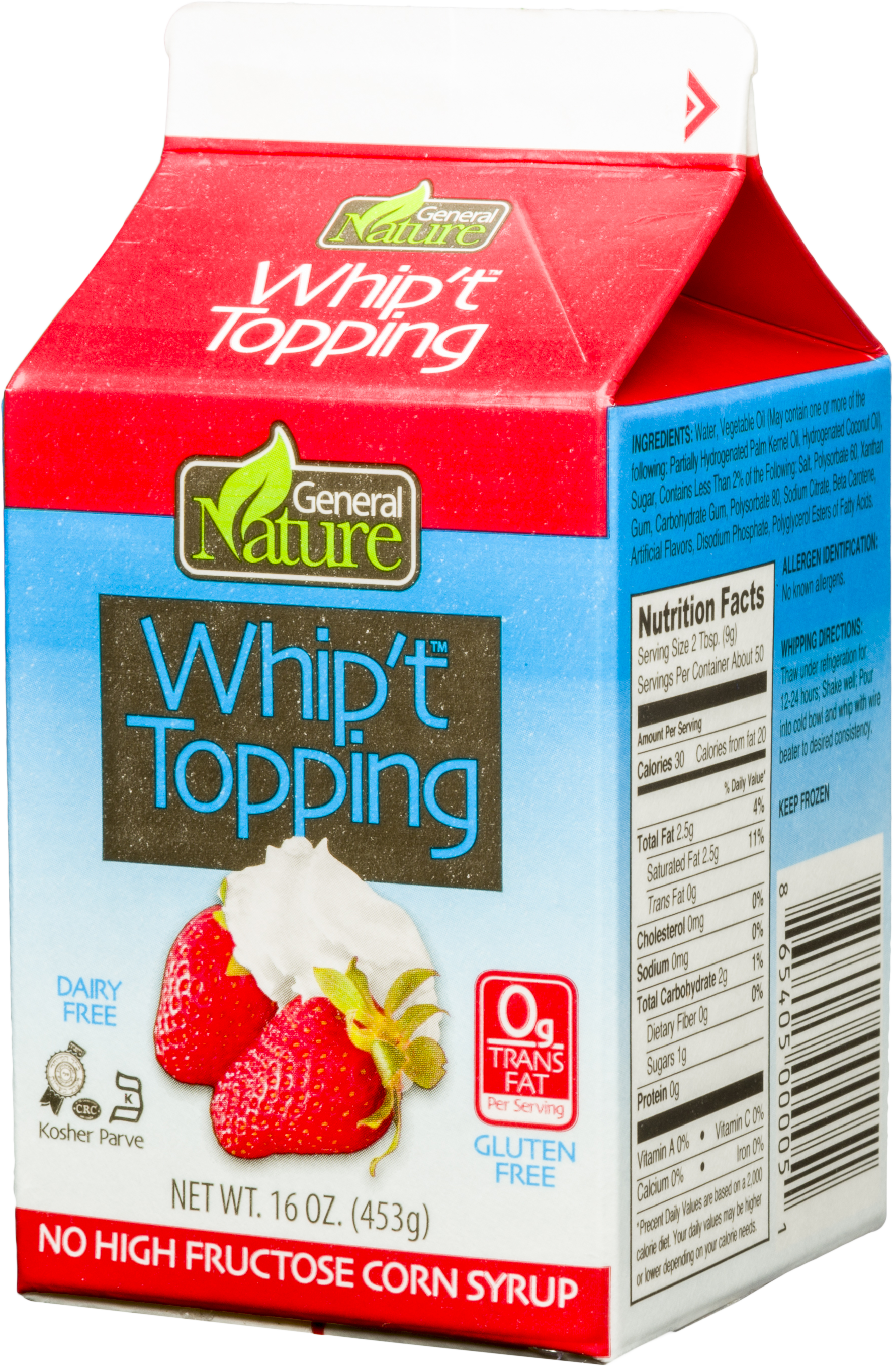 Whipt Topping 16 Oz