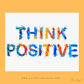 Olumlu düşünebilmenin bir sırrı var mı?