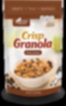 General Nature Crisp Granola  with coconut oil - Chocolate Flavor