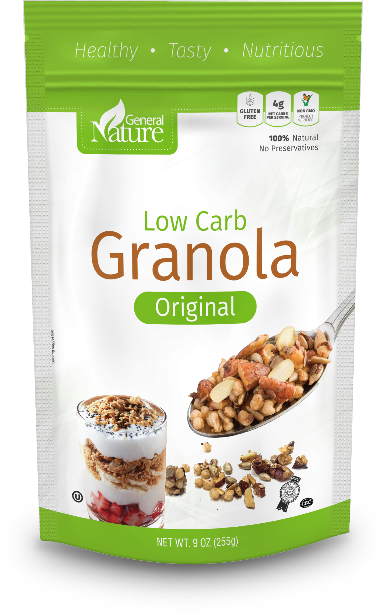 Original bag low carb