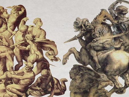 米蓋朗基羅vs達文西的世紀之爭