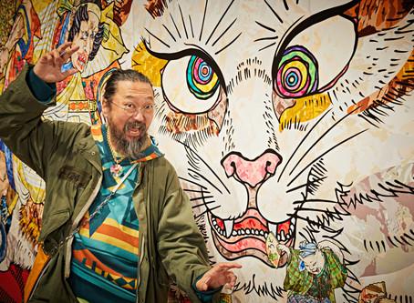 新南威爾斯美術館推出大型日本藝術展,村上隆巨幅作品超吸睛