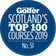 scotland's top 100 courses