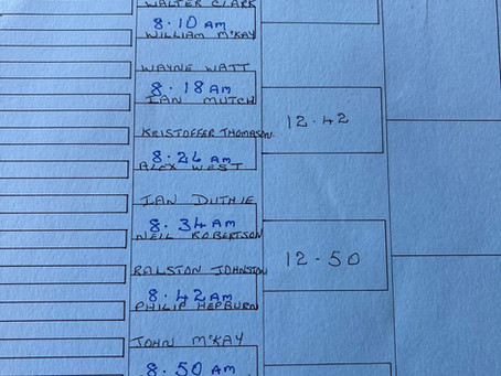 Draw for Matchplay Herring Trades