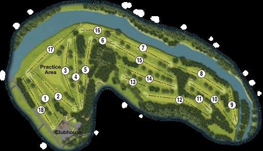 Duff Hous Royal Course Map