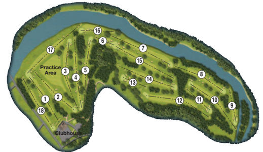 Duff Hous Royal Course Map