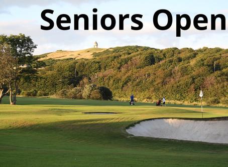 Seniors Open Sept 2020