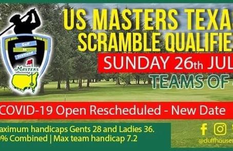 Masters Scramble