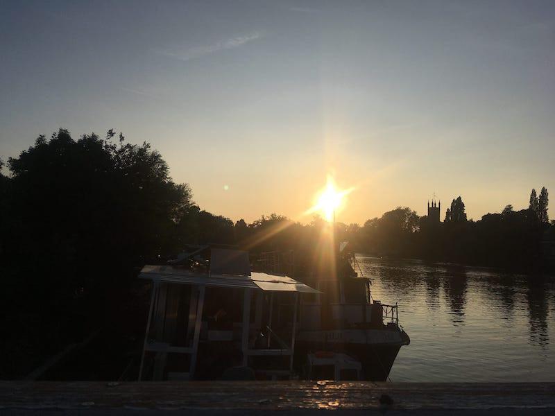 Sunset HUI