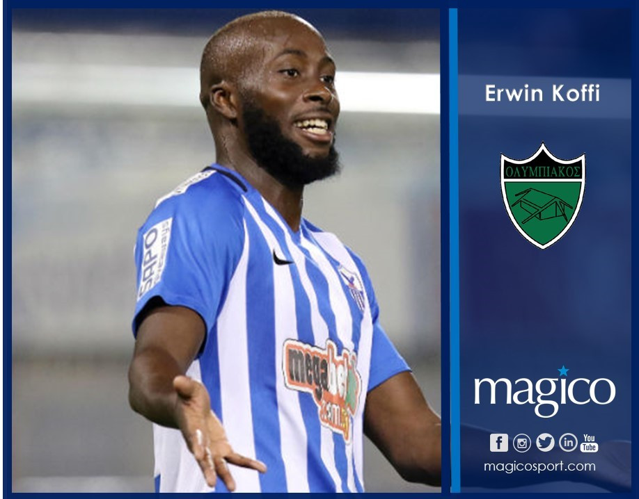 Erwin Koffi To Olympiakos Nicosia