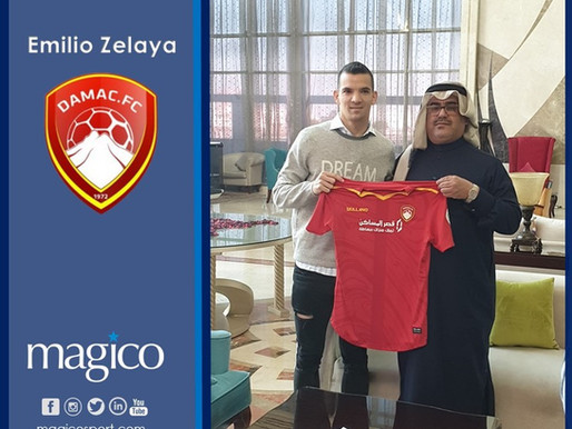 Emilio Zelaya to Damac FC