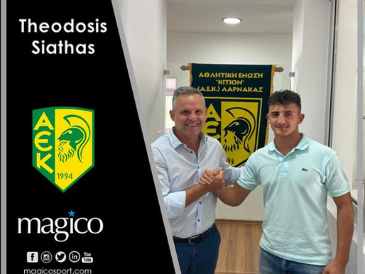Teo Siathas to AEK Larnacas FC