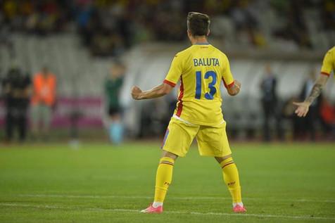 Alex Baluta international debut goal