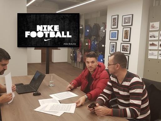 Alex Baluta Sponsored by Nike Footootball