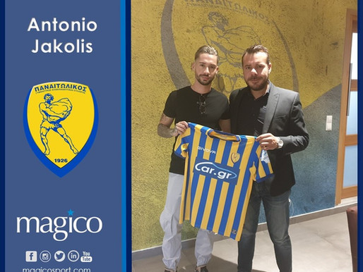Antonio Jakolis moves to Panetolikos FC