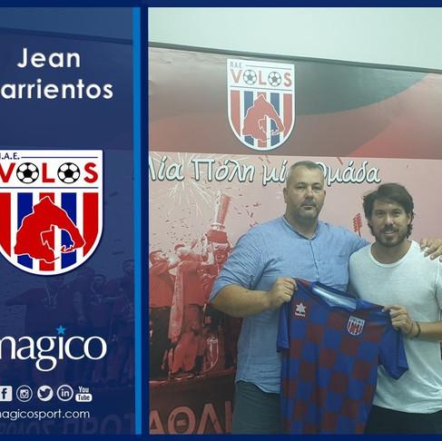 Jean Barrientos to Volos FC