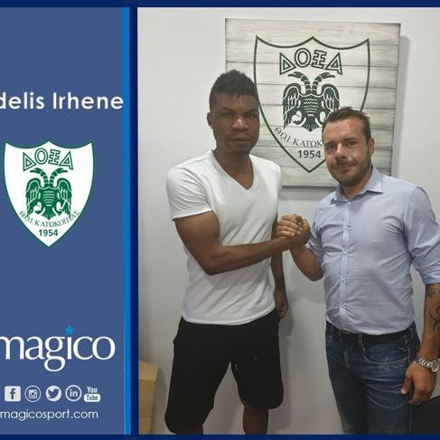 Fidelis Irhene moves to Doxa on loan
