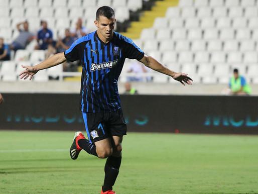 Zelaya becomes Apollon's top scorer in European competitions