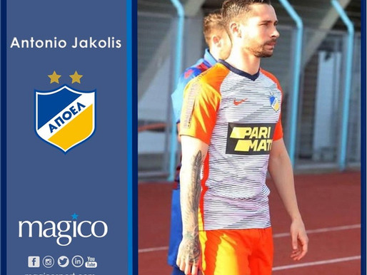 Antonio Jakolis transfer-deadline day move to APOEL FC