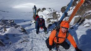 Raid à ski Cerces-Thabor