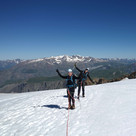Alpinisme initiation sur le glacier de la Girose
