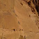 Escalade au Wadi Rum-Jordanie