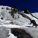 Cascade de glace-Chamonix