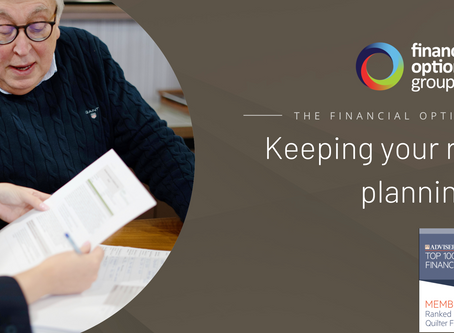 Keeping your retirement planning on track
