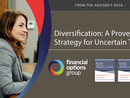 Diversification: A Proven Strategy for Uncertain Times